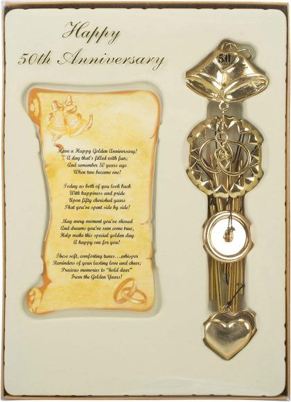 Keepsake Chime Speed 50 aniversario dorado