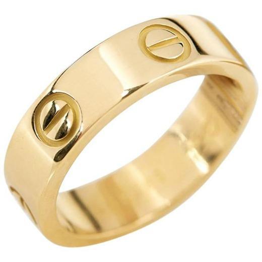 Anillo de amor en oro amarillo Cartier