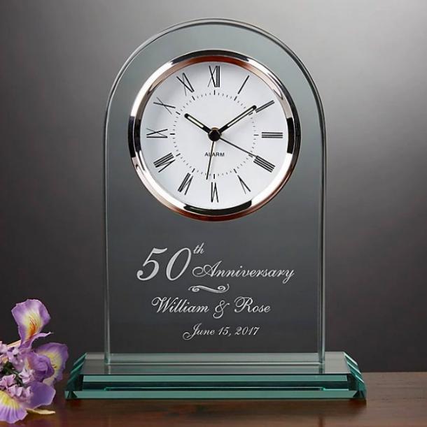 Reloj de mesa Eternal Love Anniversary