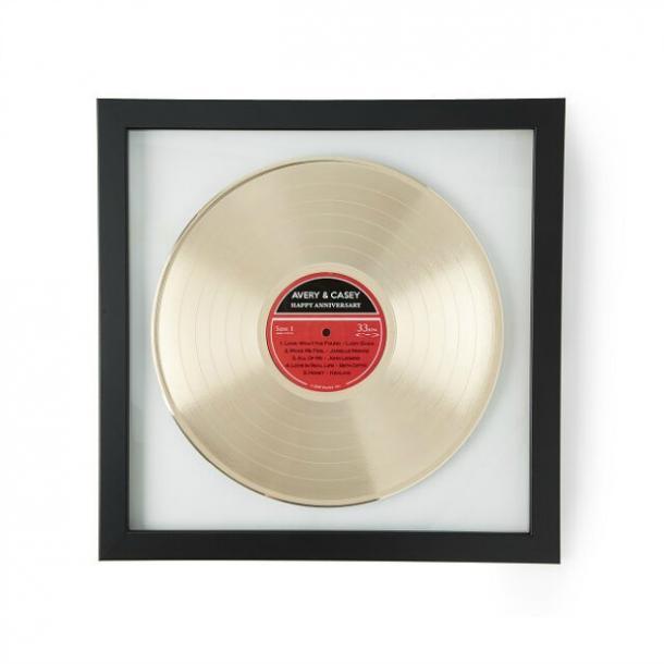 LP de oro personalizado