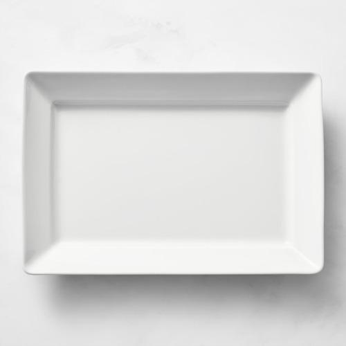 Plataforma de servidor rectangular en porcelana Pillivuyt