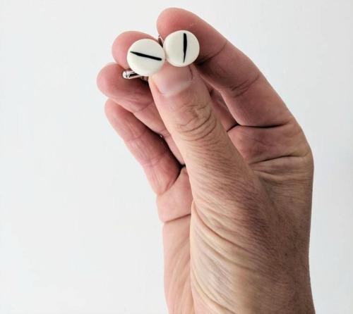 Gemelos de porcelana a rayas