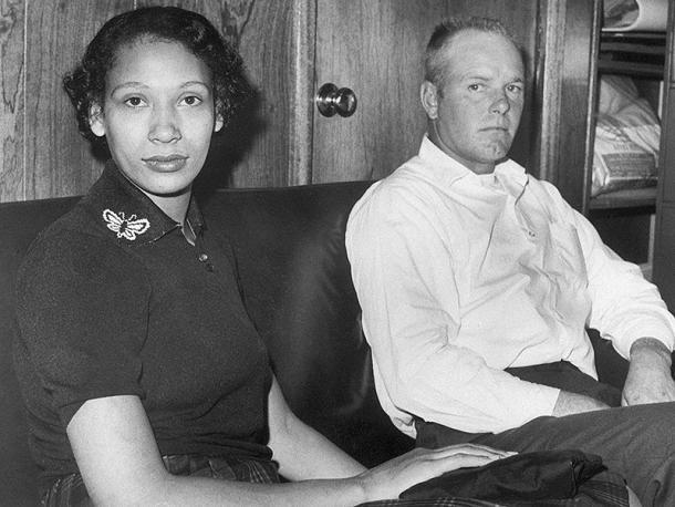 Mildred Jeter y Richard Loving