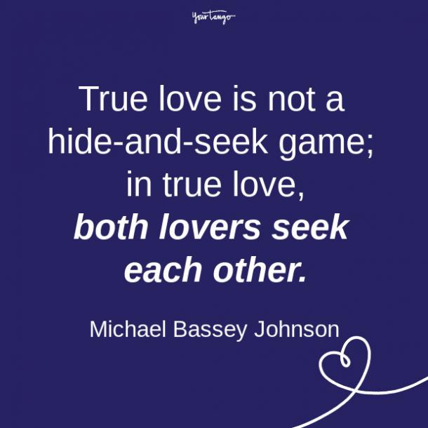 Citas de relación de Michael Bassey Johnson