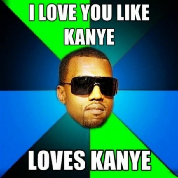 Kanye y love you meme