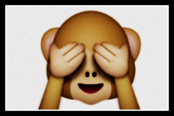 Véase Emoji No Evil Monkey