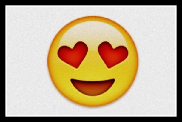 cara sonriente con ojos Emoji de corazón