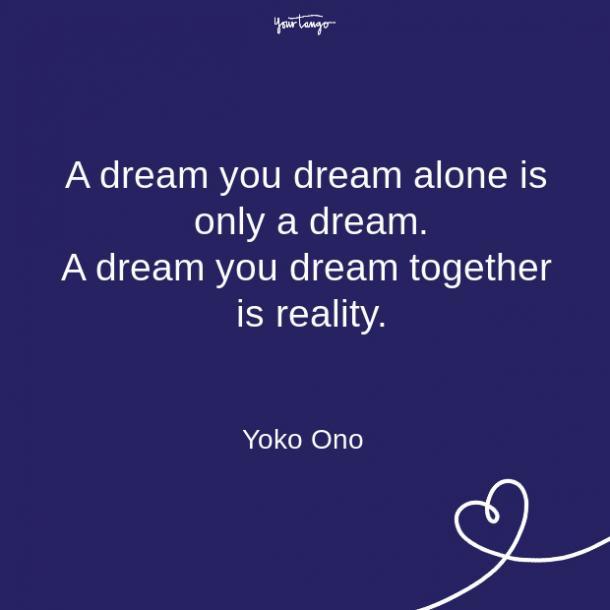 Citas sobre la relación de Yoko Ono