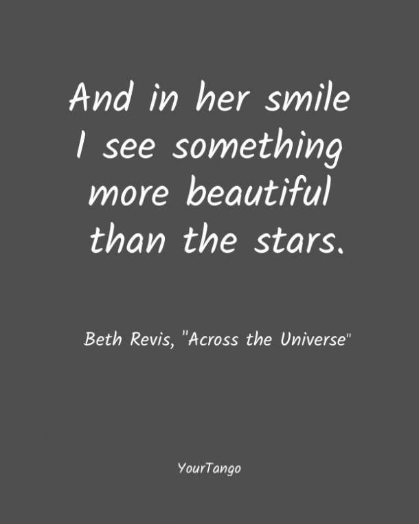A Beth Revis le encantan las comillas cortas