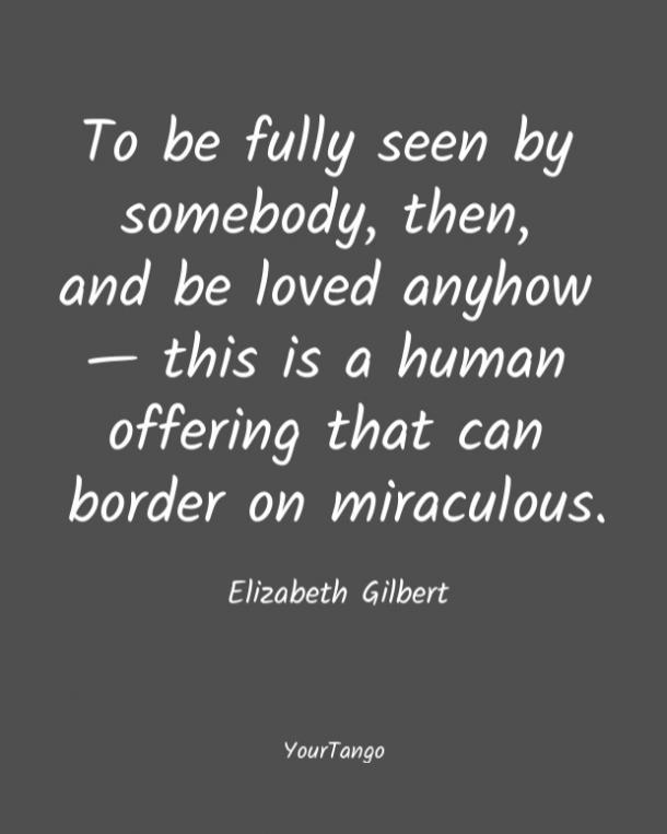 El amor corto cita Elizabeth Gilbert