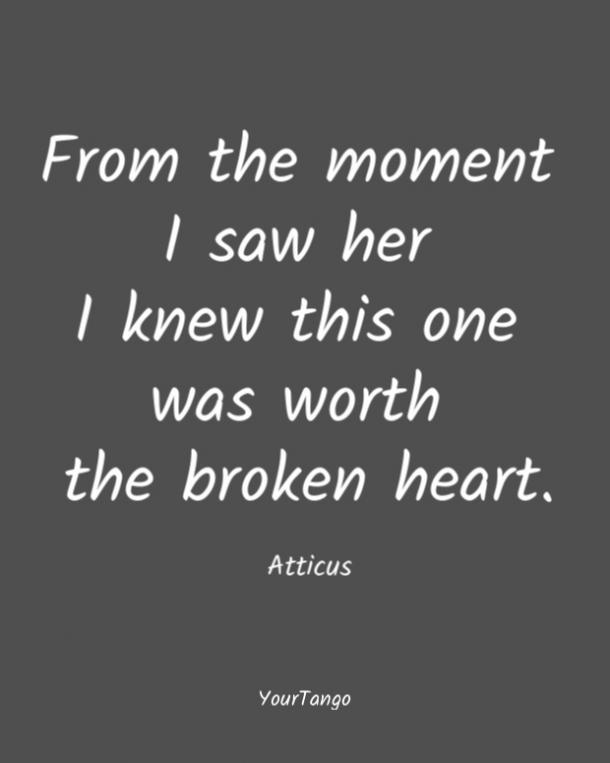 Citas de amor de Ático