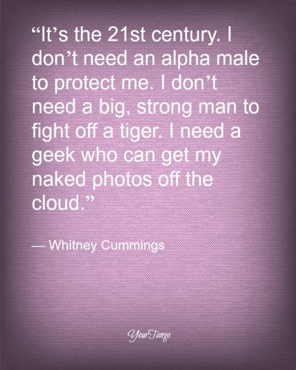 Citas de amor divertidas de Whitney Cummings