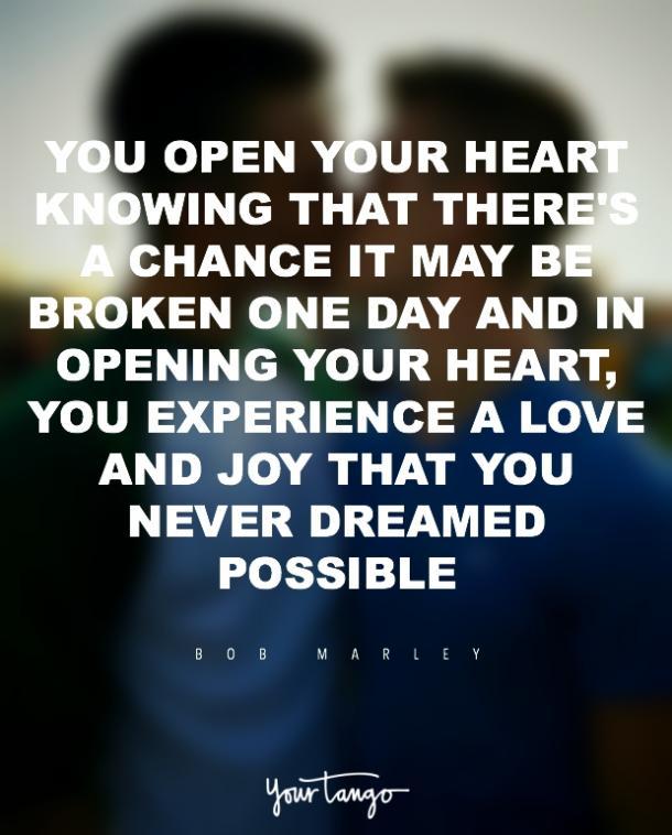Citas de amor romántico de Bob Marley