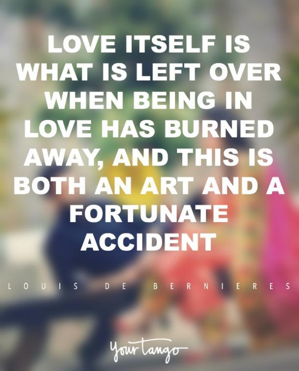 Citas de amor romántico de Louis de Bernières