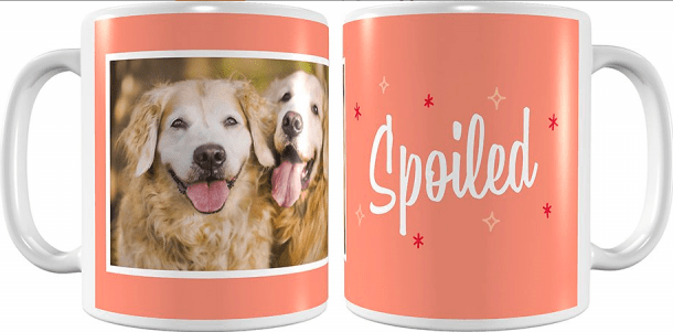 taza personalizada para mascotas